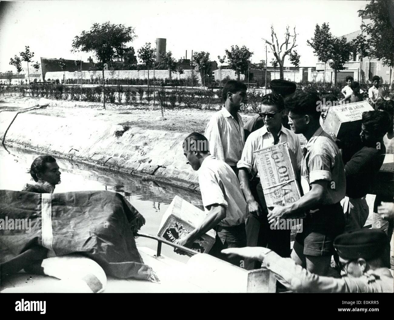 Jul. 31, 1947 - Young Zionist Missionaries - Stock Image