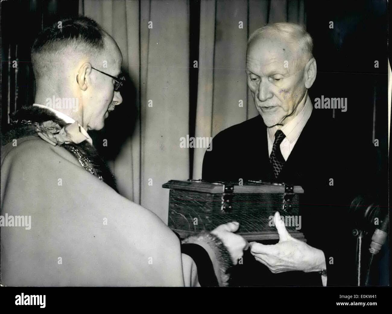 Mar. 03, 1950 - General Smuts Dies With A Broken Heart Famous Statesman - Aged Eighty: Eighty year old Jan Chr. Stain Smuts the - Stock Image