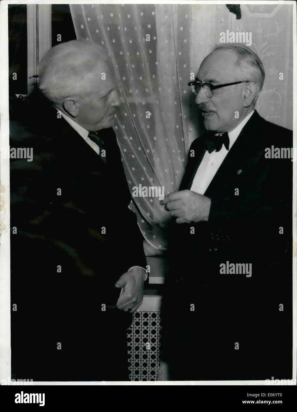 Nobel Prize In Literature 1952 Stock Photos
