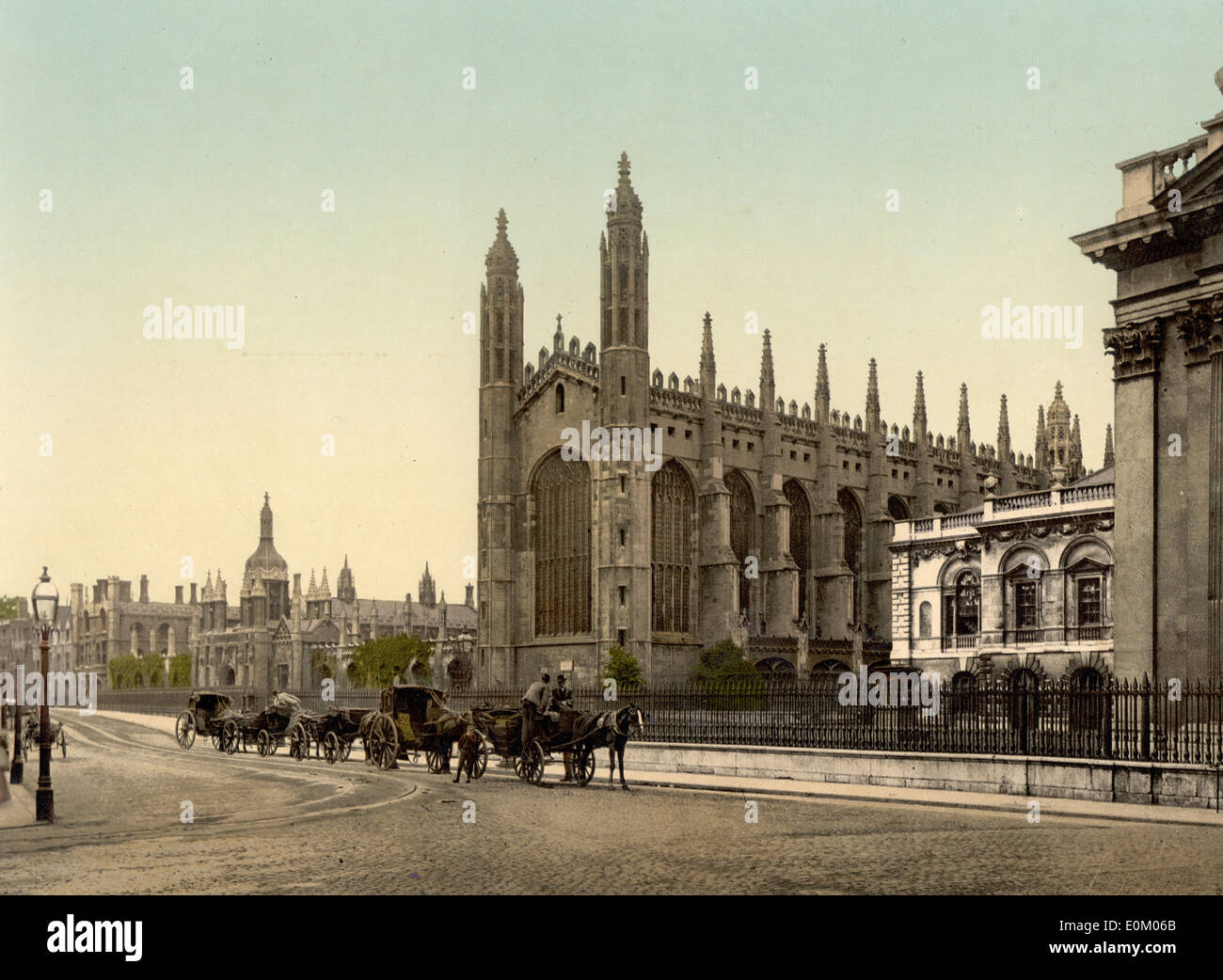 King's College, Cambridge, England - Stock Image