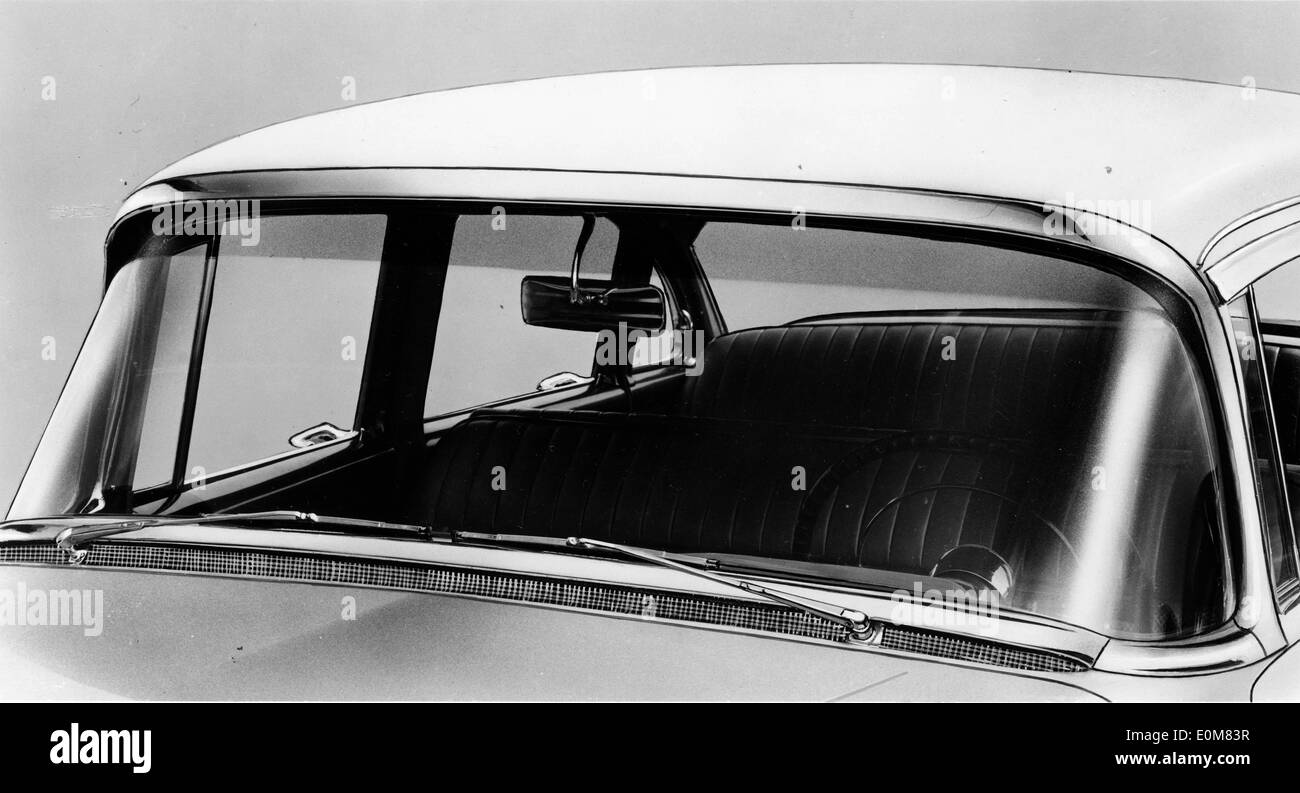 1954 Buick  with new panoramic windshield - Stock Image