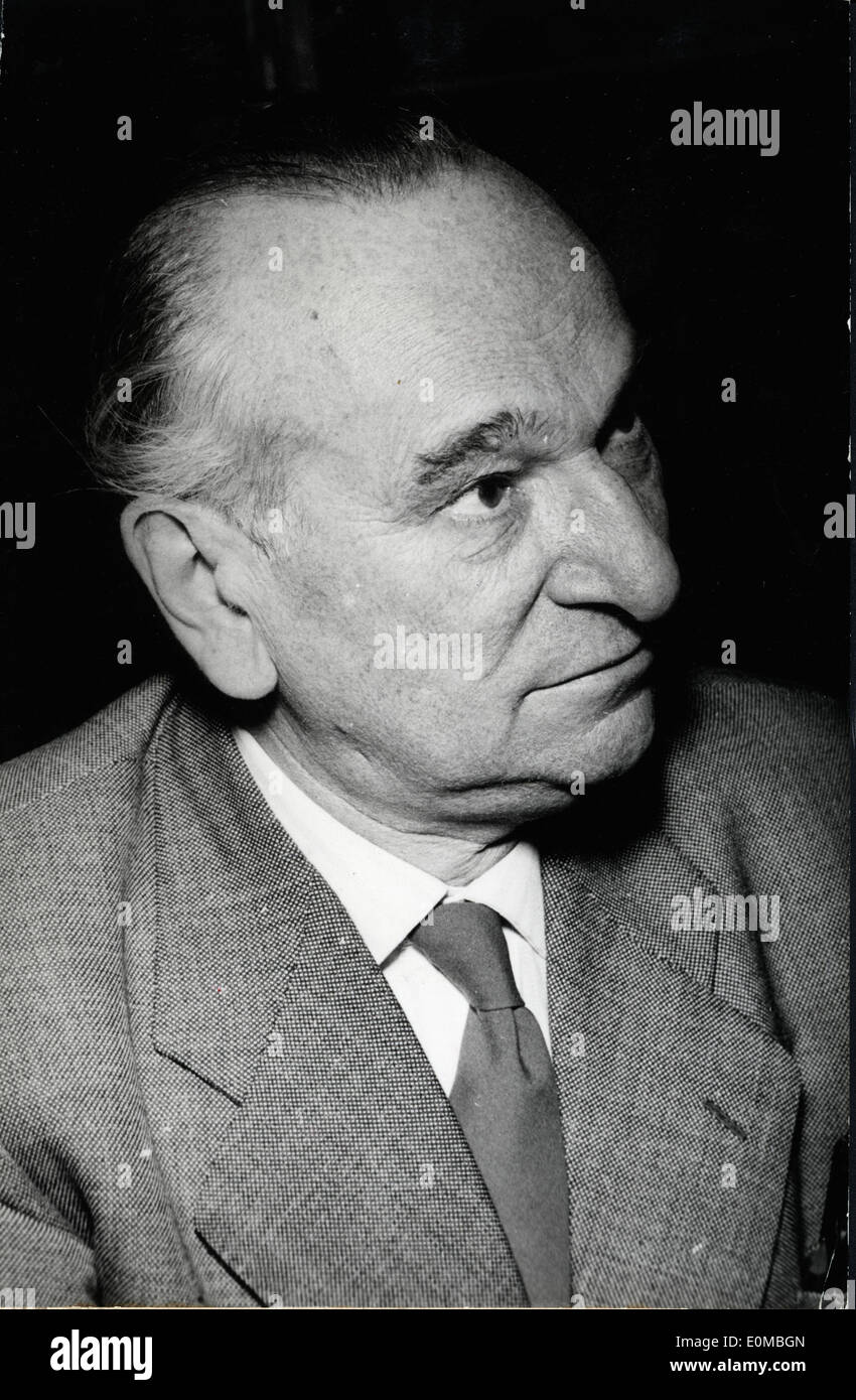 Dr. Otto Bezoid of the Free Democratic Party - Stock Image