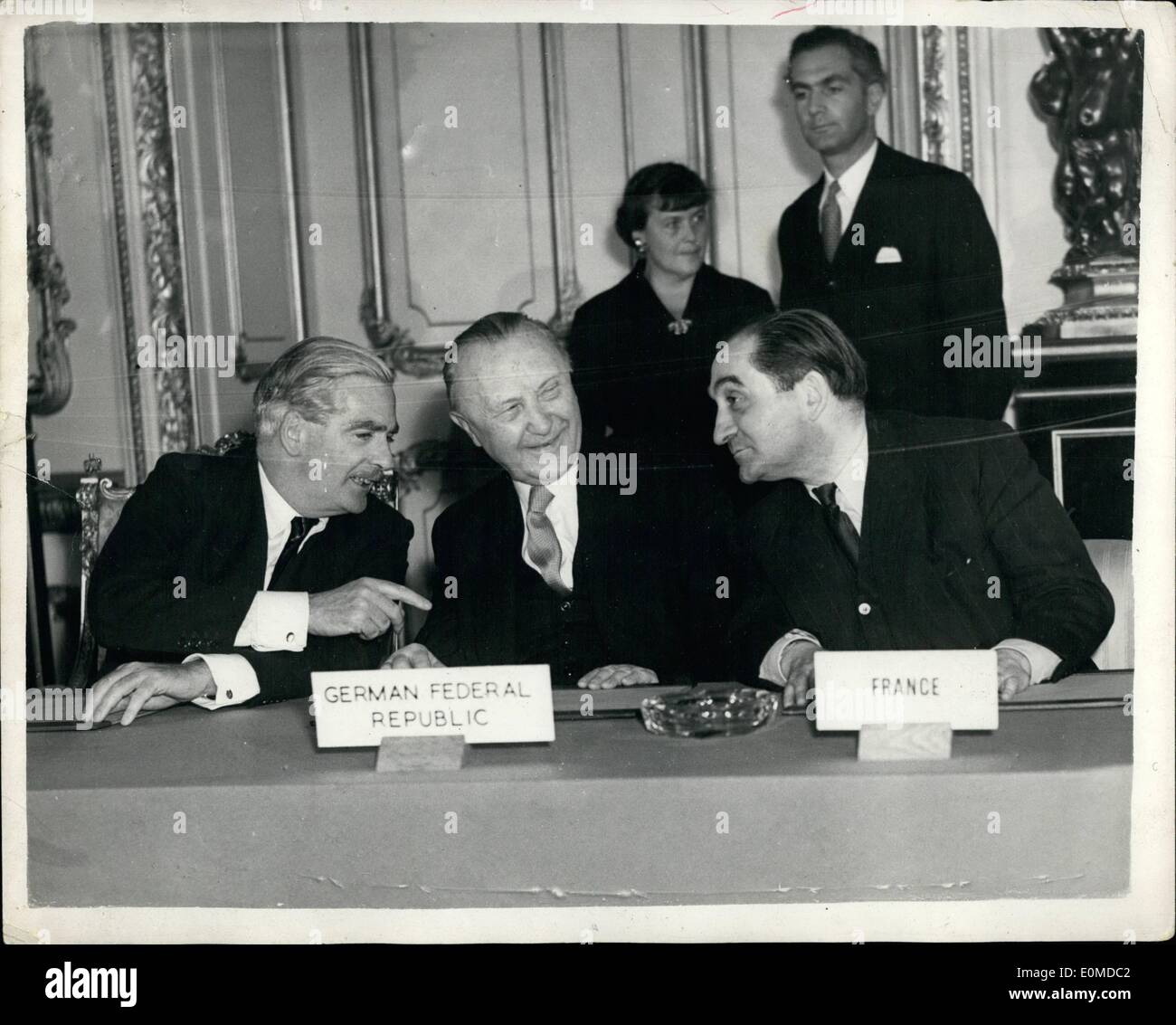 Lancaster house agreement stock photos lancaster house agreement oct 10 1954 agreement reached at nine power conference photo shows mr platinumwayz