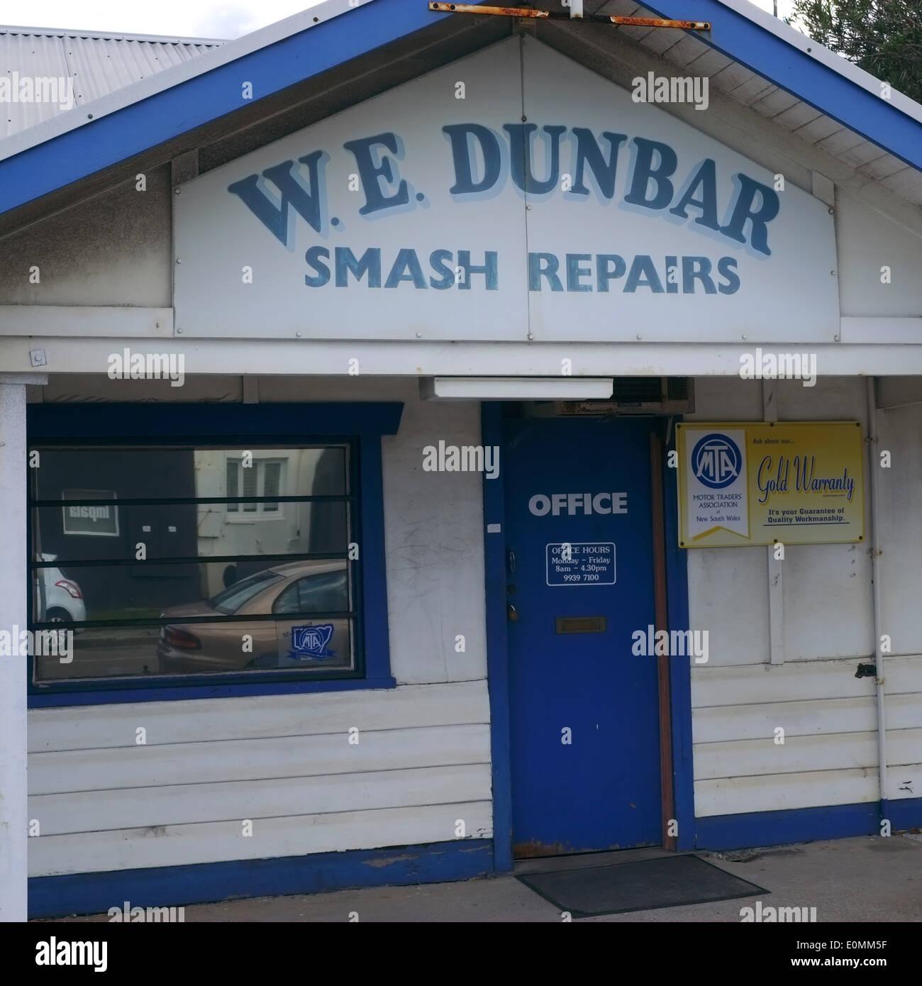 Car Repairs Garage Australia Stock Photos Car Repairs Garage