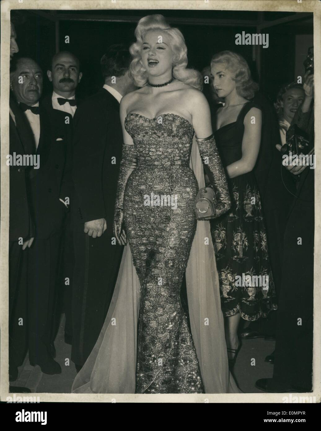 May 05, 1956 - DIANA DORS ATTENDS THE CANNES INTERNATIONAL FILM ...