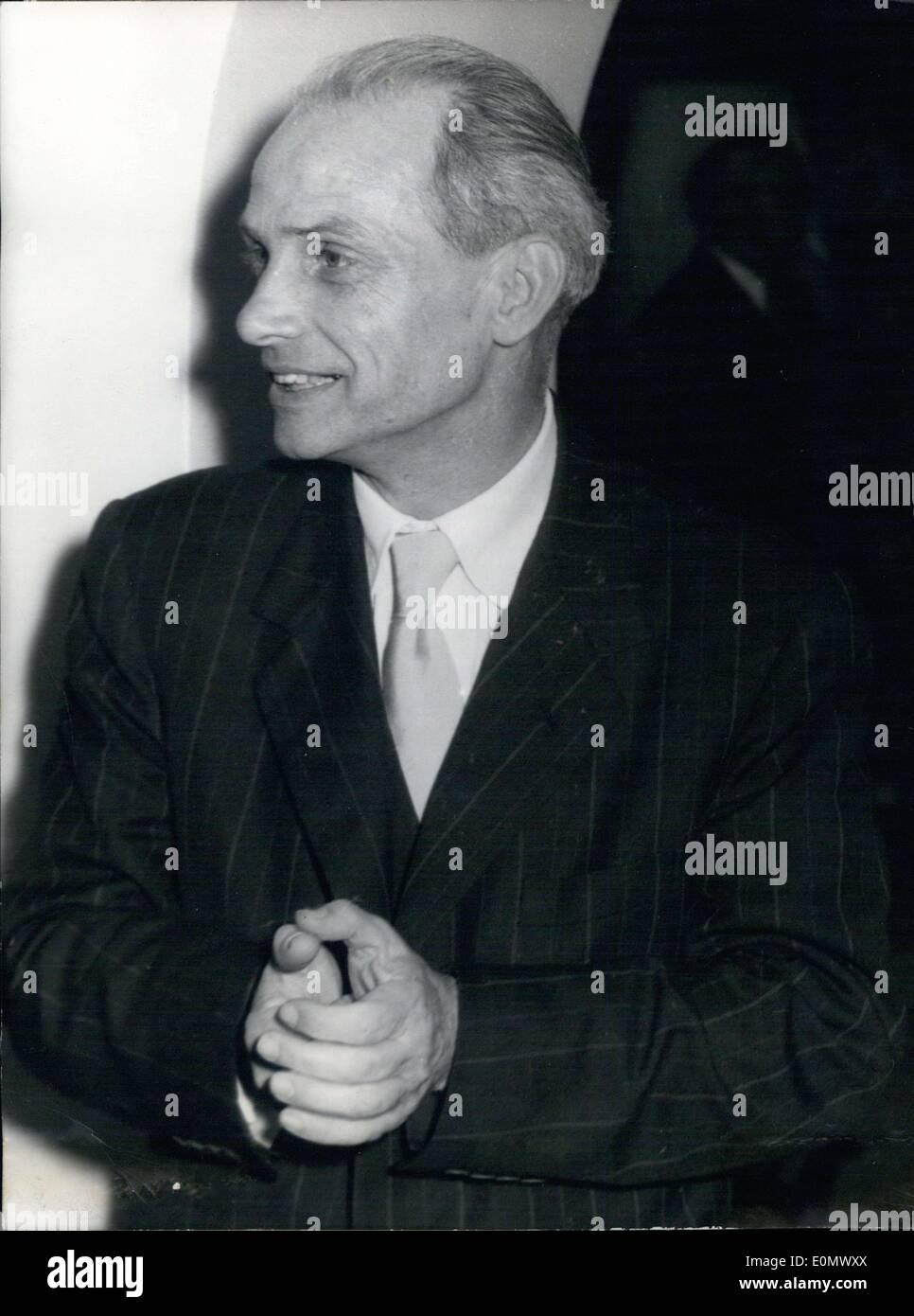 Oct. 03, 1956 - Prince von Sachsen-Altenburg - Stock Image