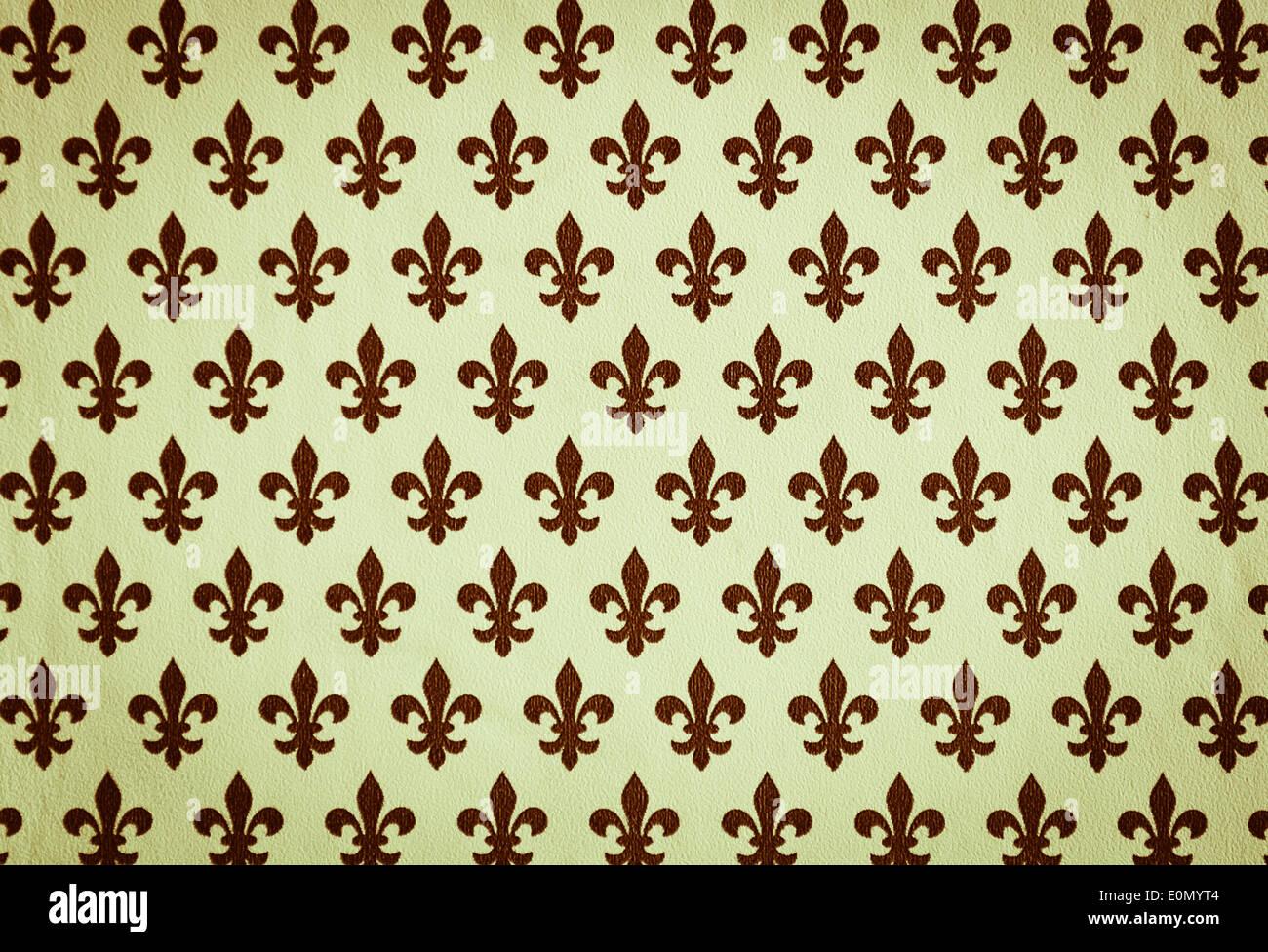 Lily flower heraldic symbol texture stock photo 69302356 alamy lily flower heraldic symbol texture izmirmasajfo