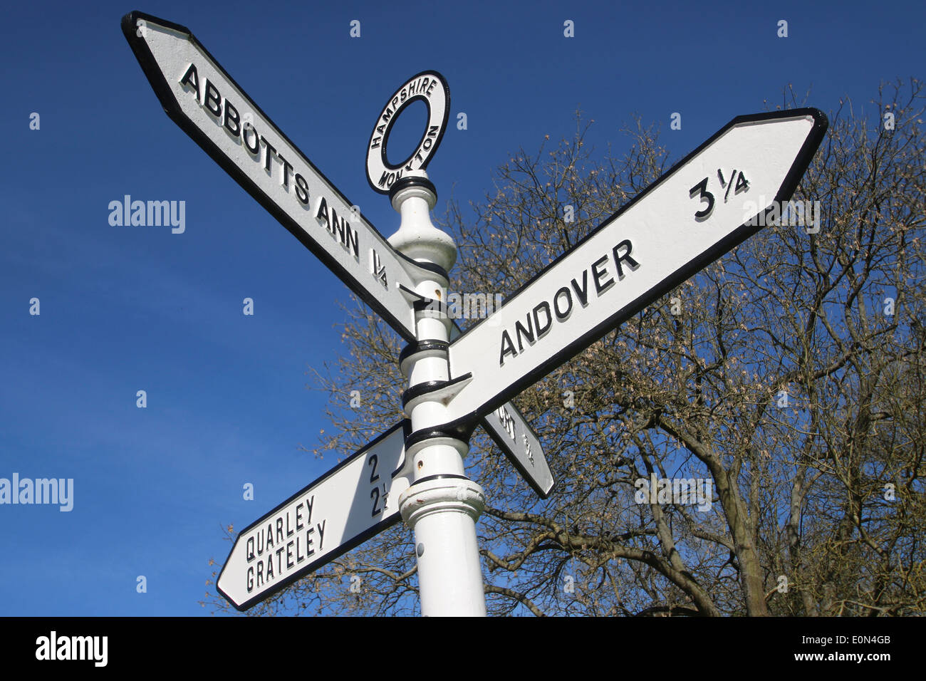 Country Sign - Stock Image