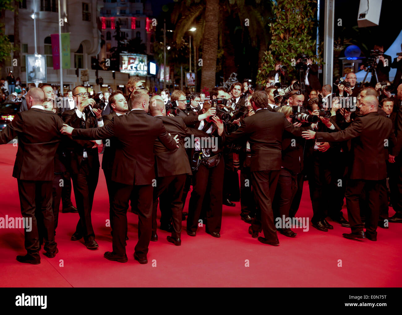 Red carpet press photographers captives premiere 67th cannes film stock photo 69308116 alamy - Red carpet photographers ...