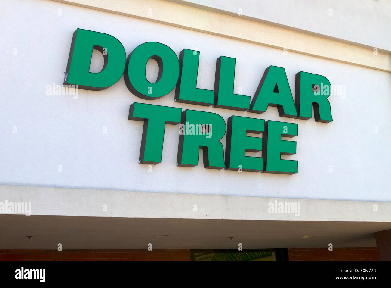 Dollar Tree Store Sign In Santa Ana California