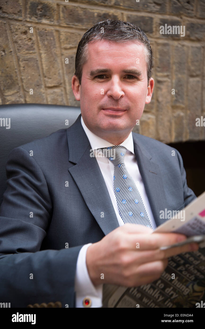City gent, City of London, UK Stock Photo