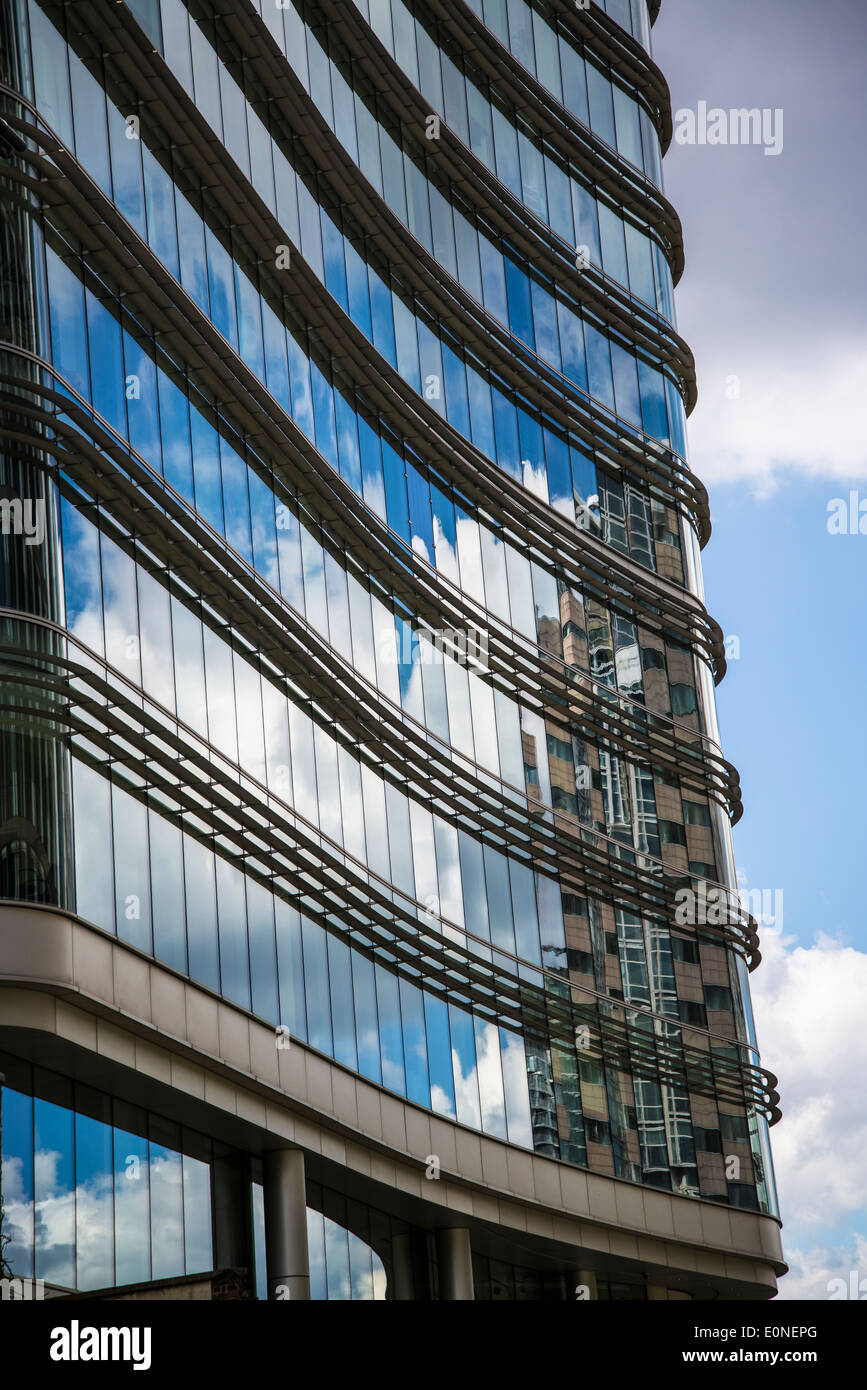 One London Wall building, City of London, UK - Stock Image
