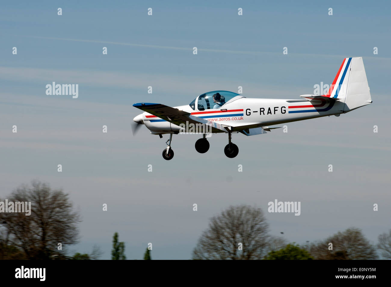 Slingsby Firefly T67C aircraft - Stock Image