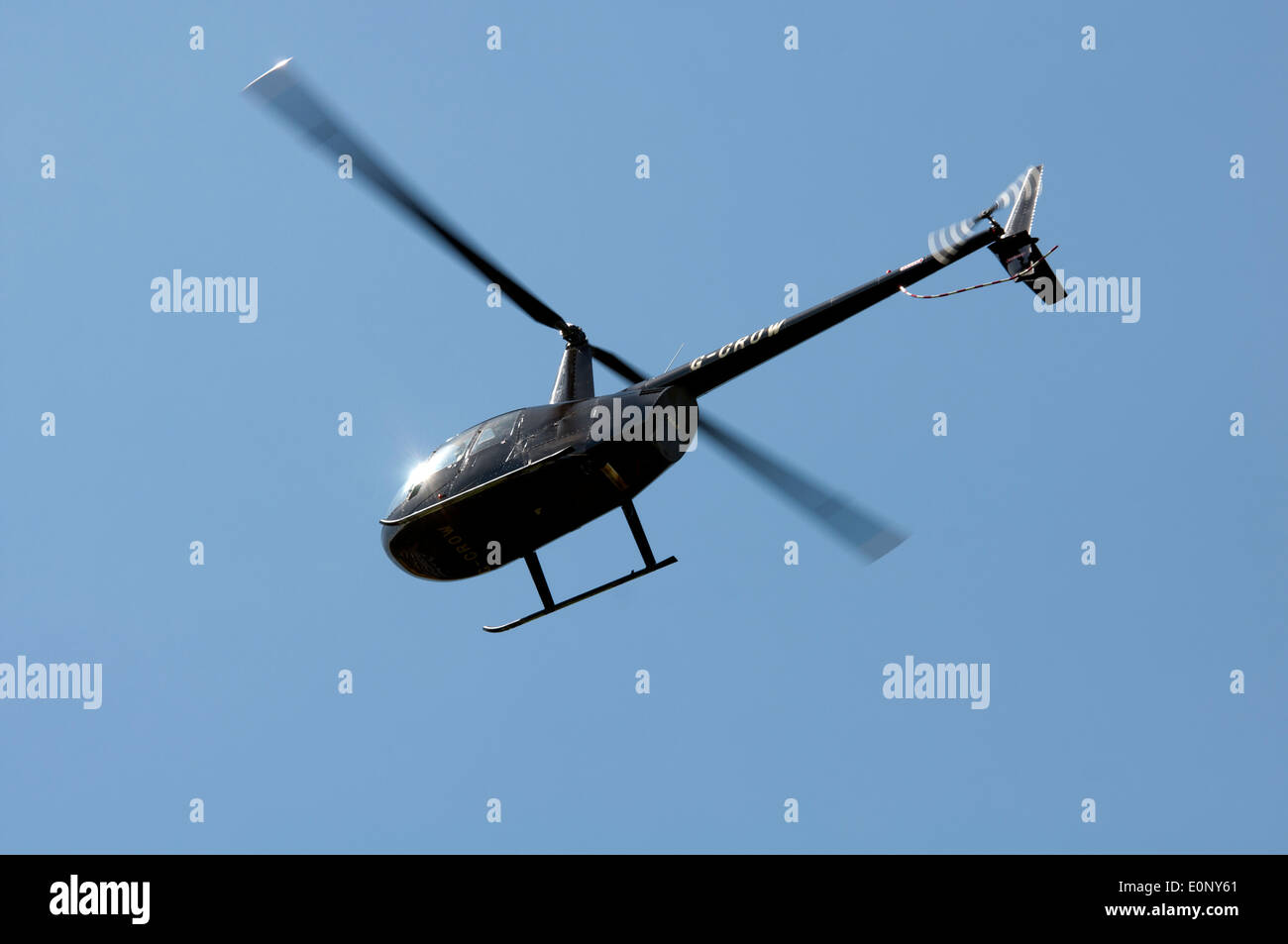 Robinson R44 Astro helicopter - Stock Image