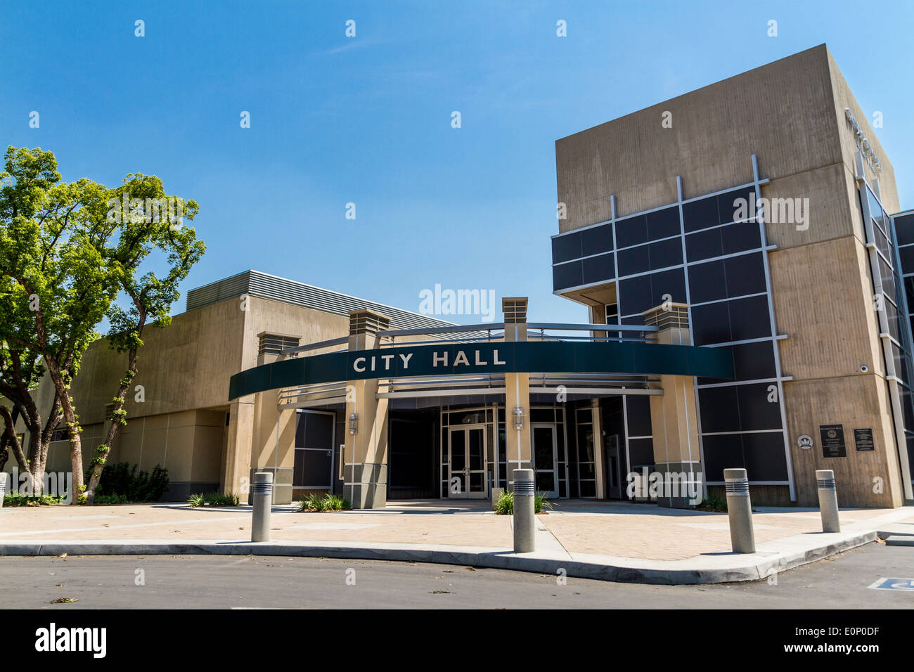 The Ontario California City Hall In Southern California Home Of