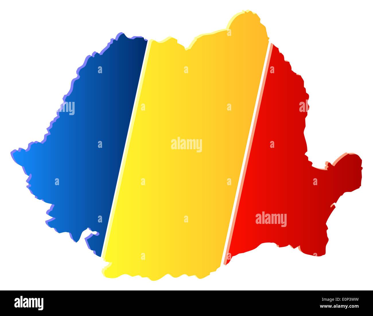 Romania Map Stock Photos Romania Map Stock Images Alamy