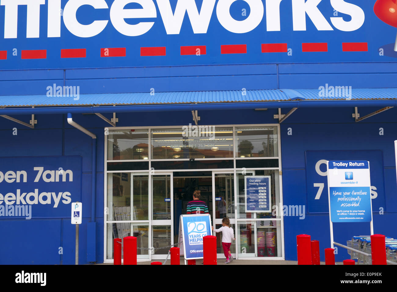 officeworks an australian national chain of office supplies stores