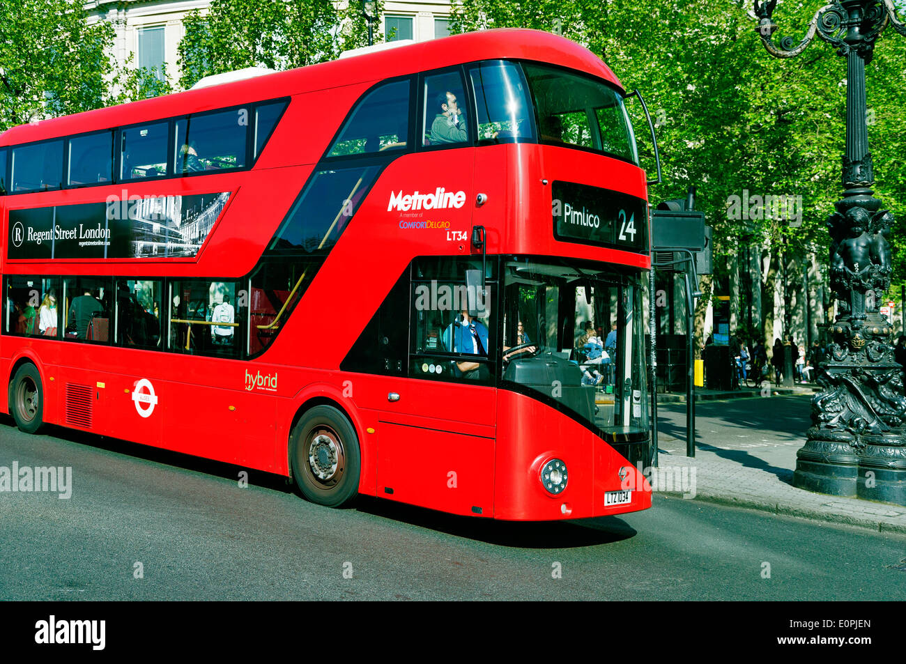 New London Double-decker 'Boris' Bus, London, England, UK - Stock Image