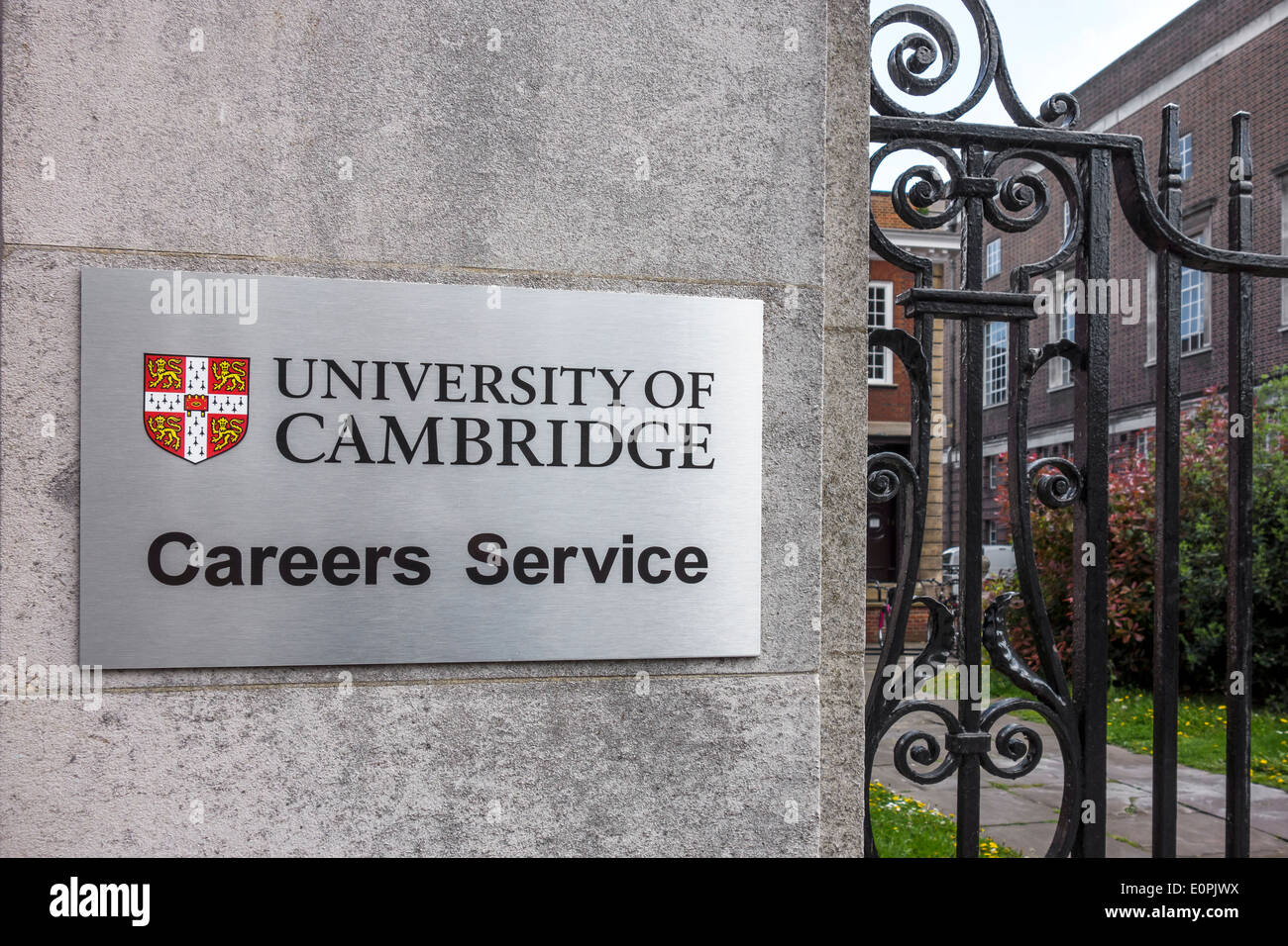 University of Cambridge Careers Service - Stock Image
