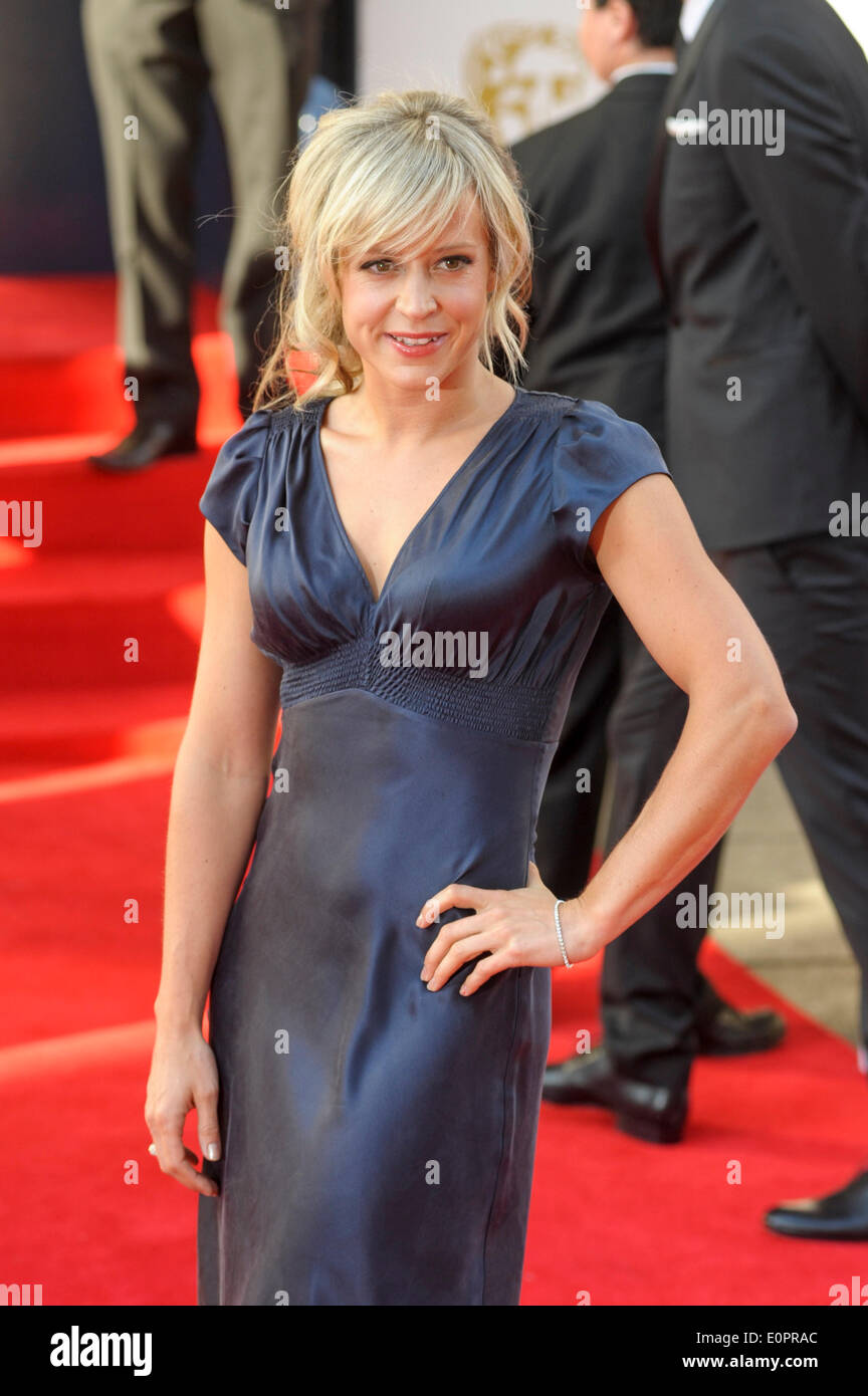 London, UK, 18/05/2014 : The Arqiva BAFTA TV Awards Red Carpet Arrivals.. Persons Pictured: Jenny Jones. Picture by Julie Edwards - Stock Image