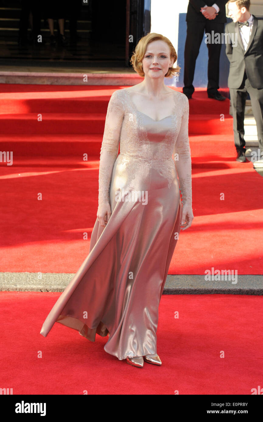 London, UK, 18/05/2014 : The Arqiva BAFTA TV Awards Red Carpet Arrivals.. Persons Pictured: Maxine Peake. Picture by Julie Edwards - Stock Image