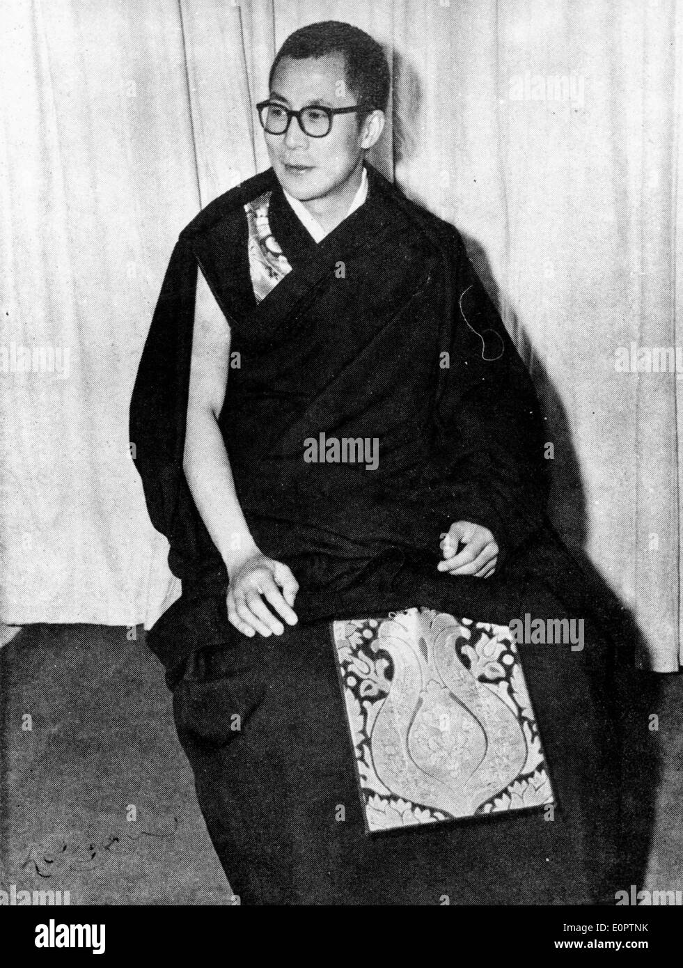 The 14th Dalai Lama - Stock Image