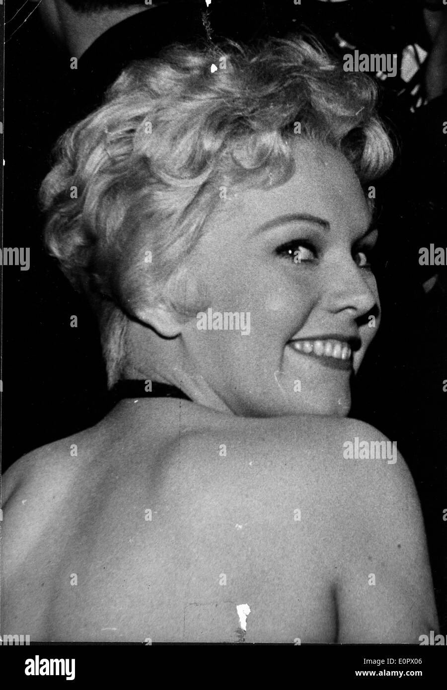 Bare Back Woman Black And White Stock Photos Images Alamy