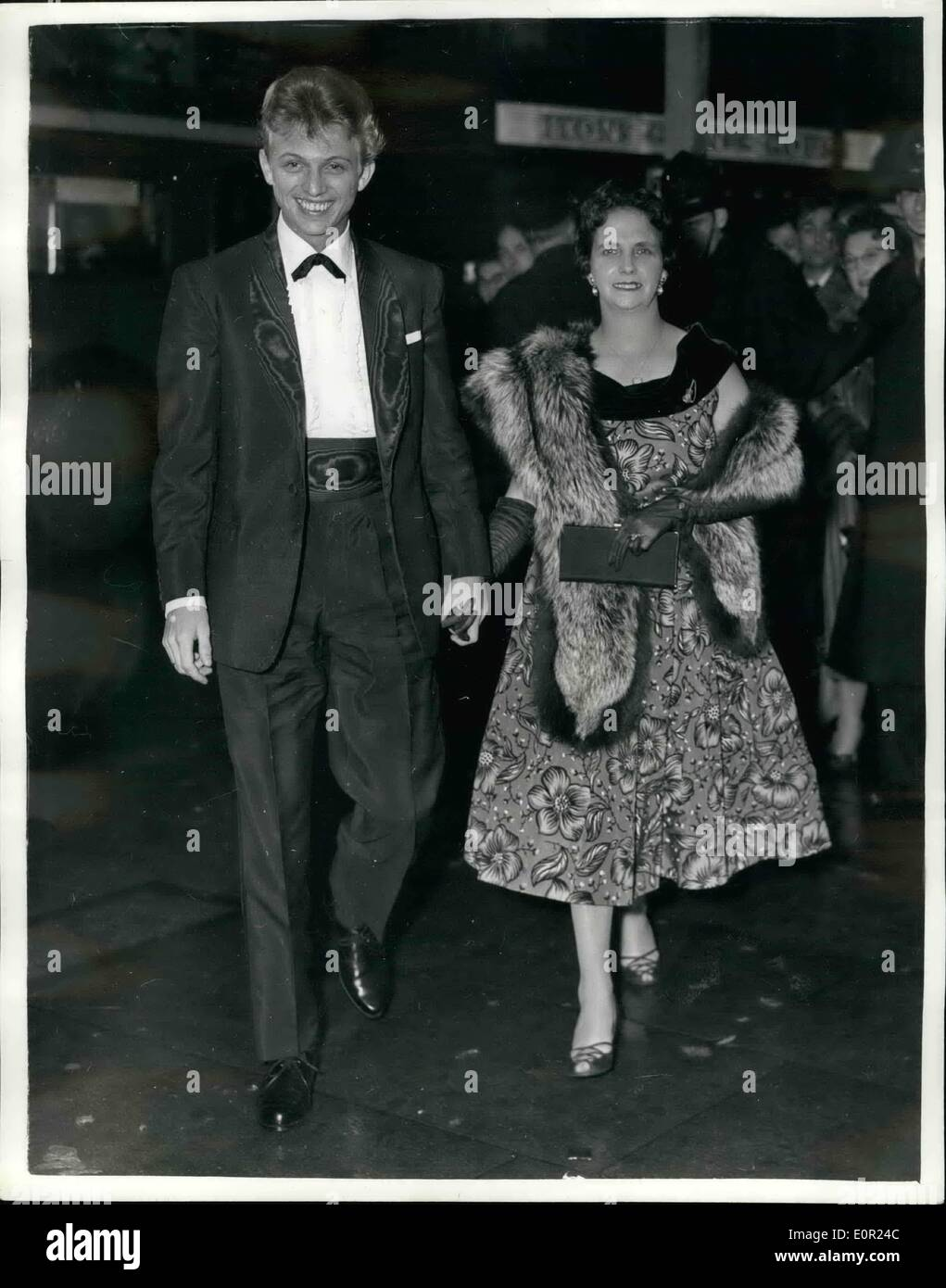 Oct. 10, 1957 - Judy Garland show at the Dominion. Tommy Steele ...