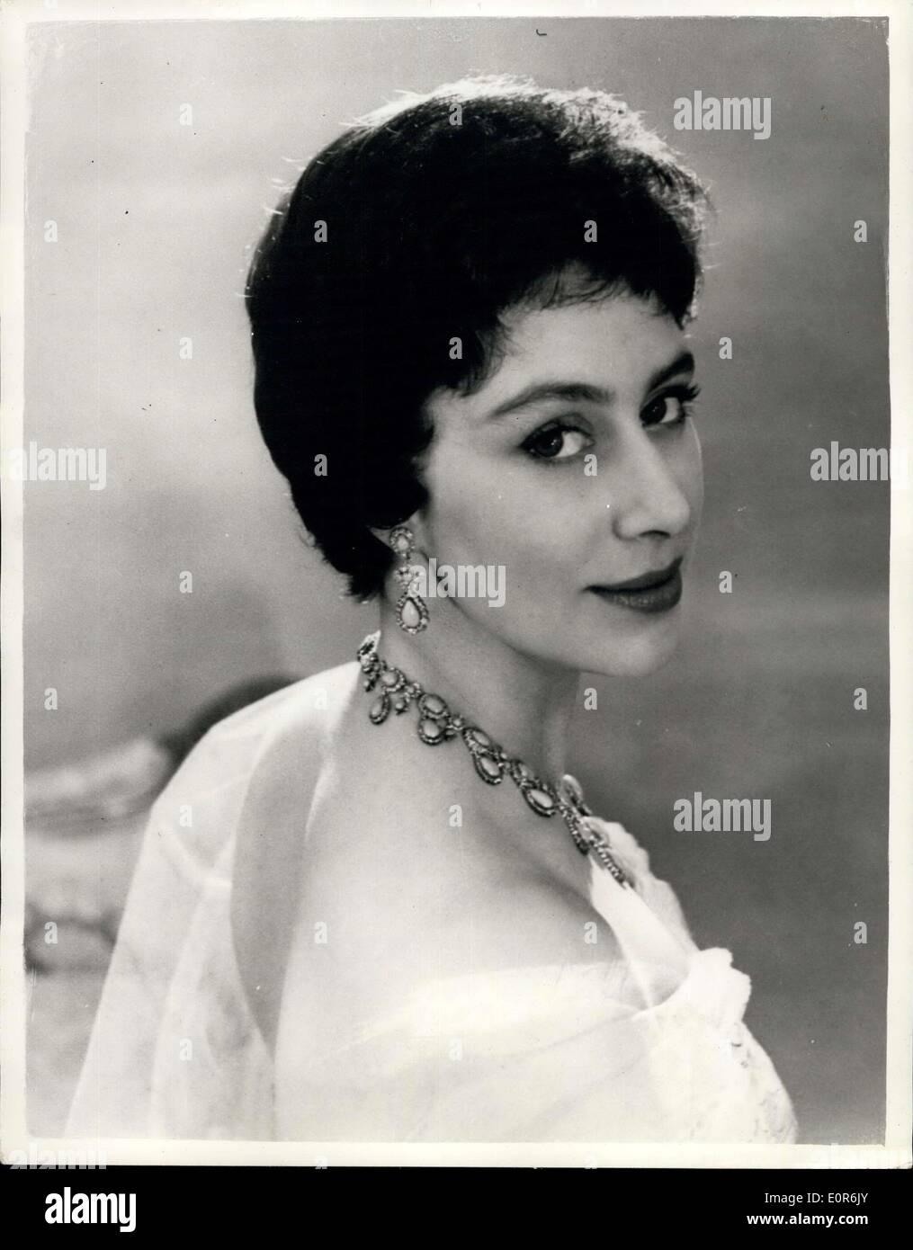 Apr 18 1958 New Official Portrait Princess Margaret