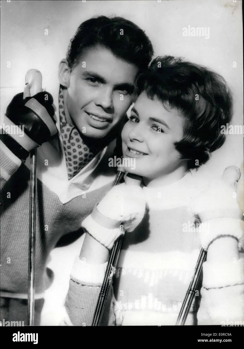 Conny Froboess Bilder dec. 12, 1958 - conny and peter: both the german teenager