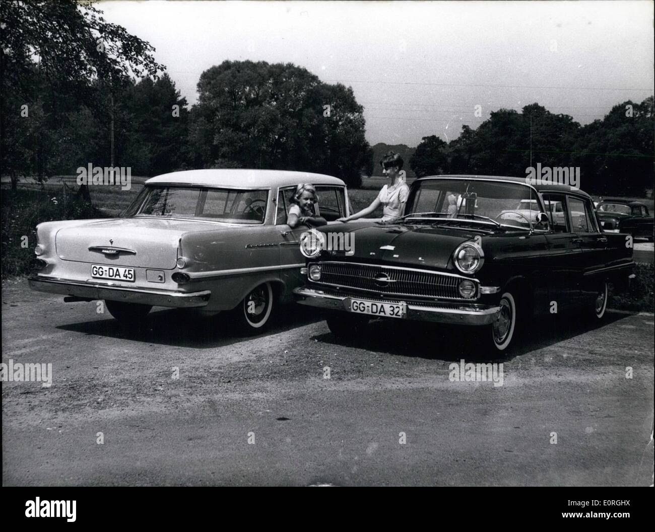 Aug 08 1959 Attention Picture Must Not Be Published Before Aug Stock Photo Alamy