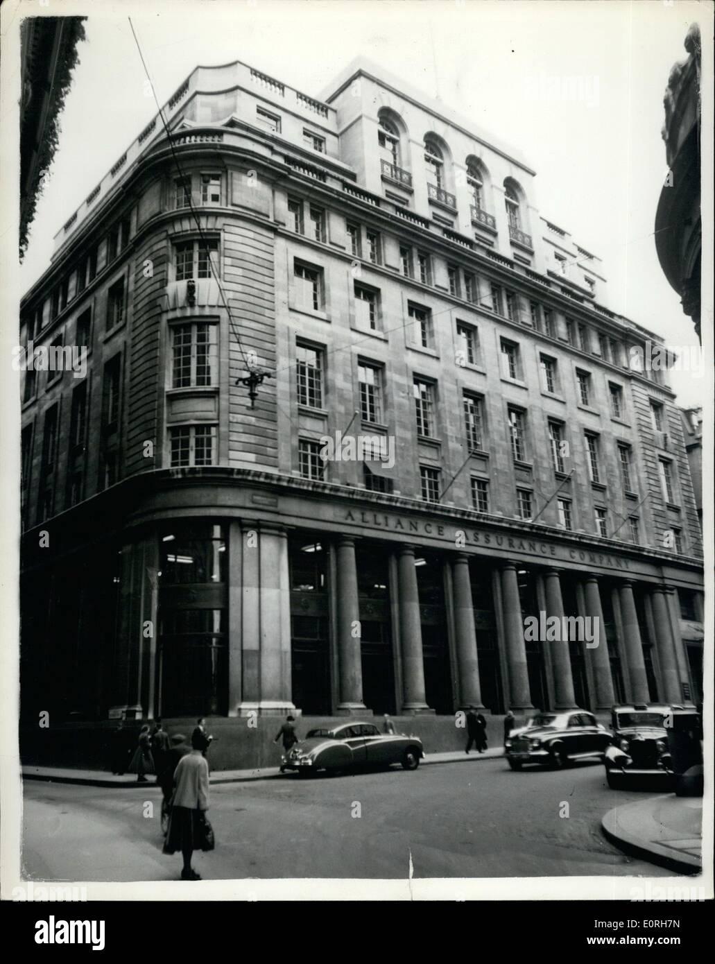 Sep. 09, 1959 - Rothschild House - Stock Image