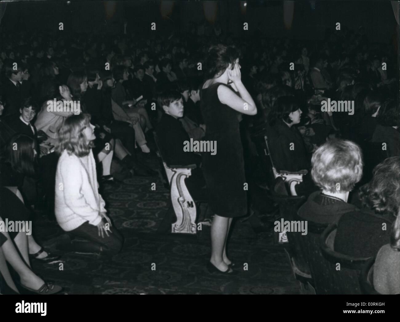 Jan 1, 1960 - Unidentified Stones fan. - Stock Image