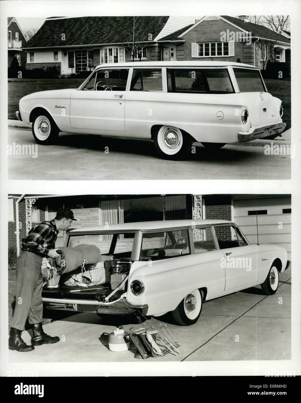 Jan 01, 1960 - Official product photos of a 1960 Ford Falcon