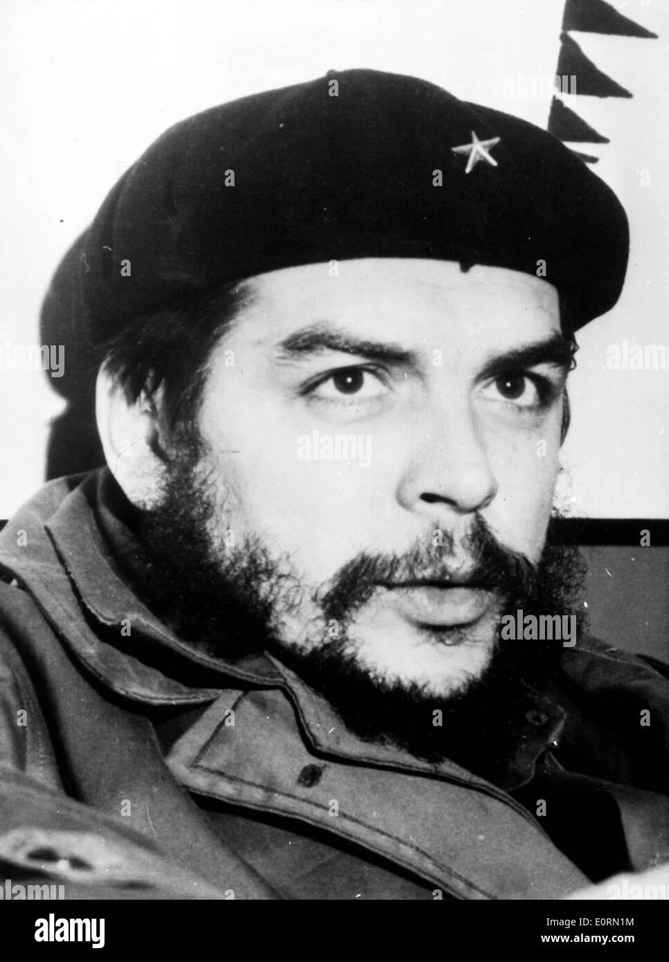 Close-up of Cuban Revolutionary Che Guevara - Stock Image