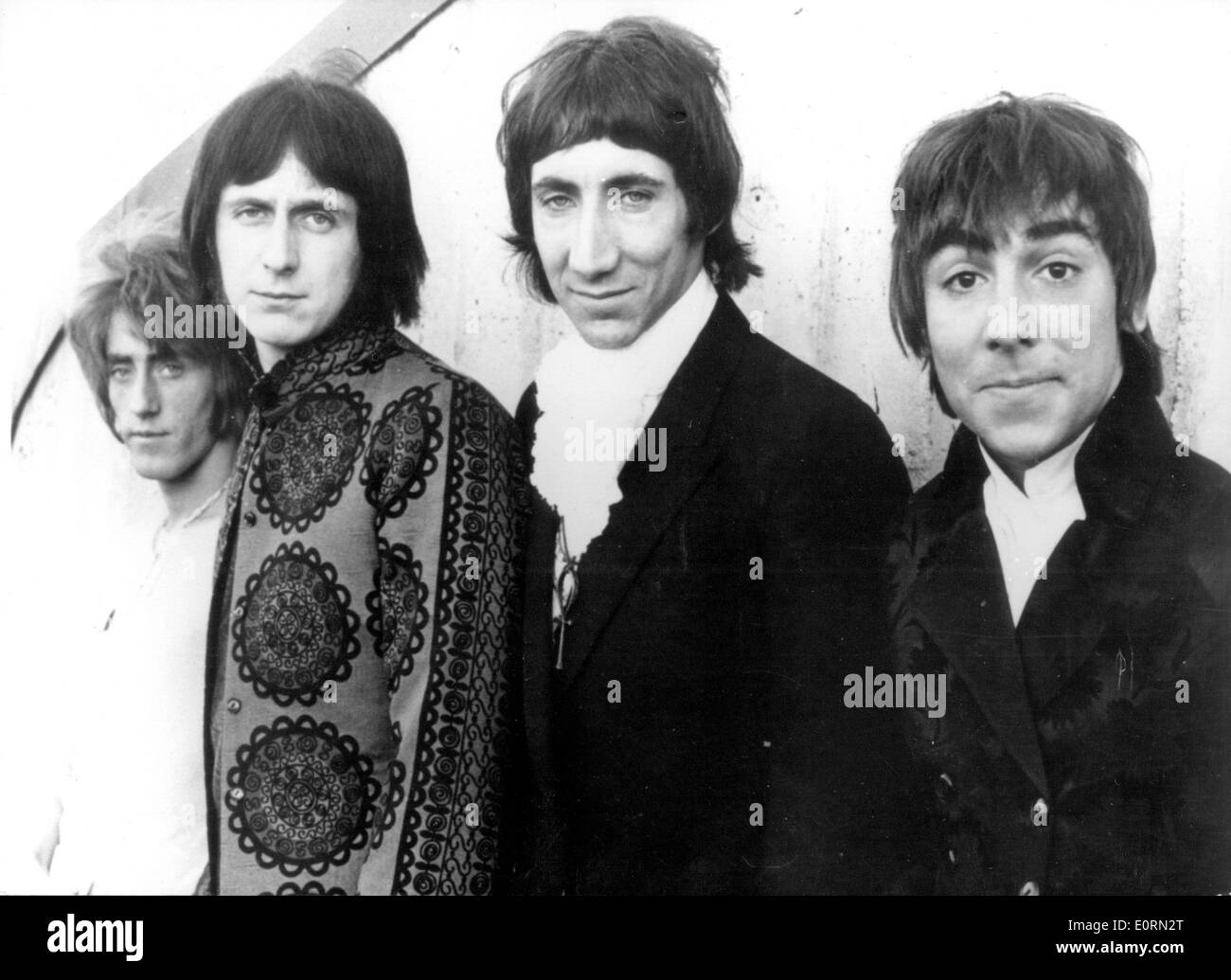 Portrait of the hard rock band The Who - Stock Image