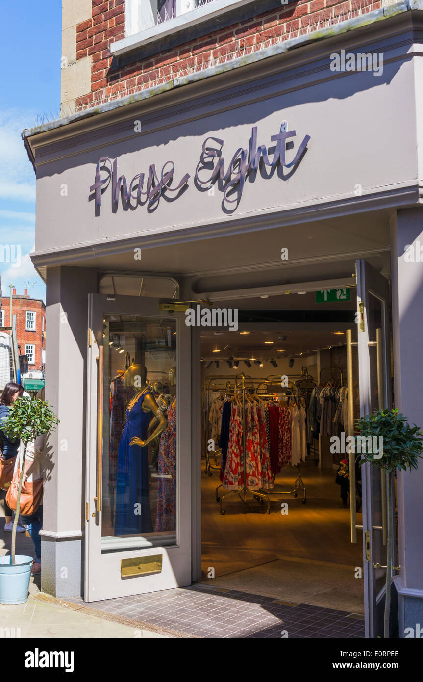 Phase Eight clothing chain store, England, UK - Stock Image