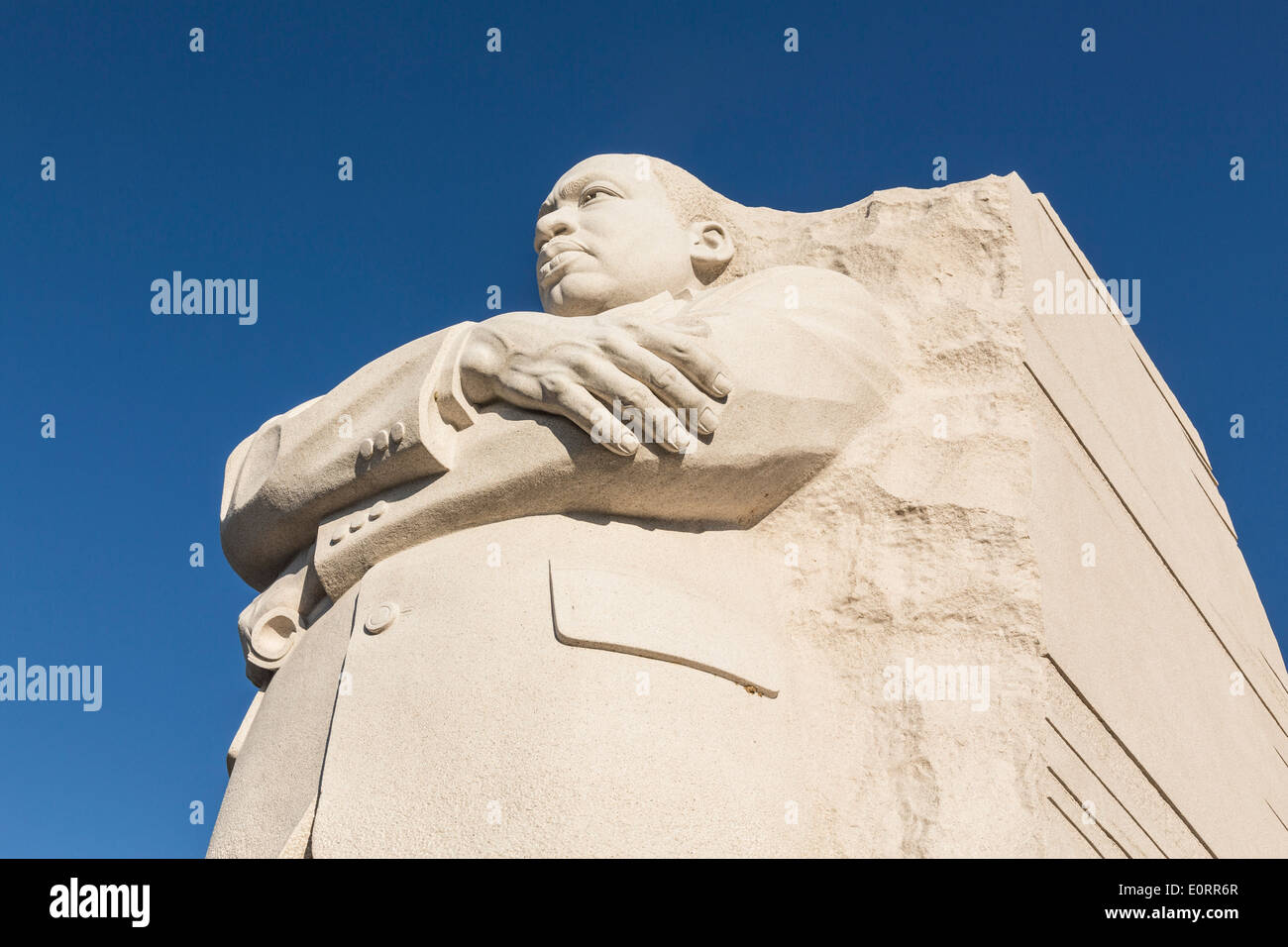 Martin Luther King Jr Memorial, Washington DC, USA - Stock Image