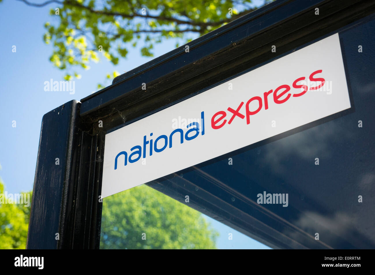 National Express coaches logo, UK - Stock Image