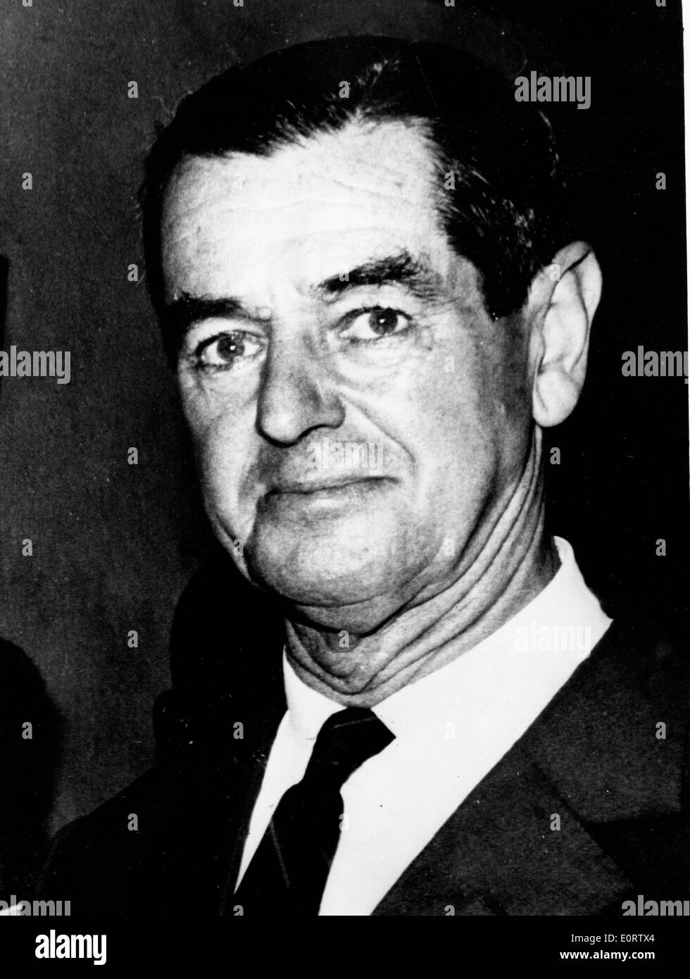 Prime Minister of Southern Rhodesia Winston Field - Stock Image