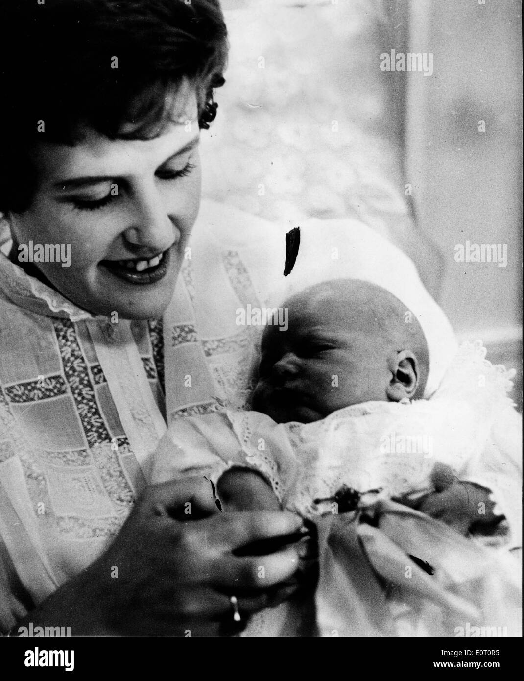 Princess Isabelle Of Orleans Braganza With Her Baby