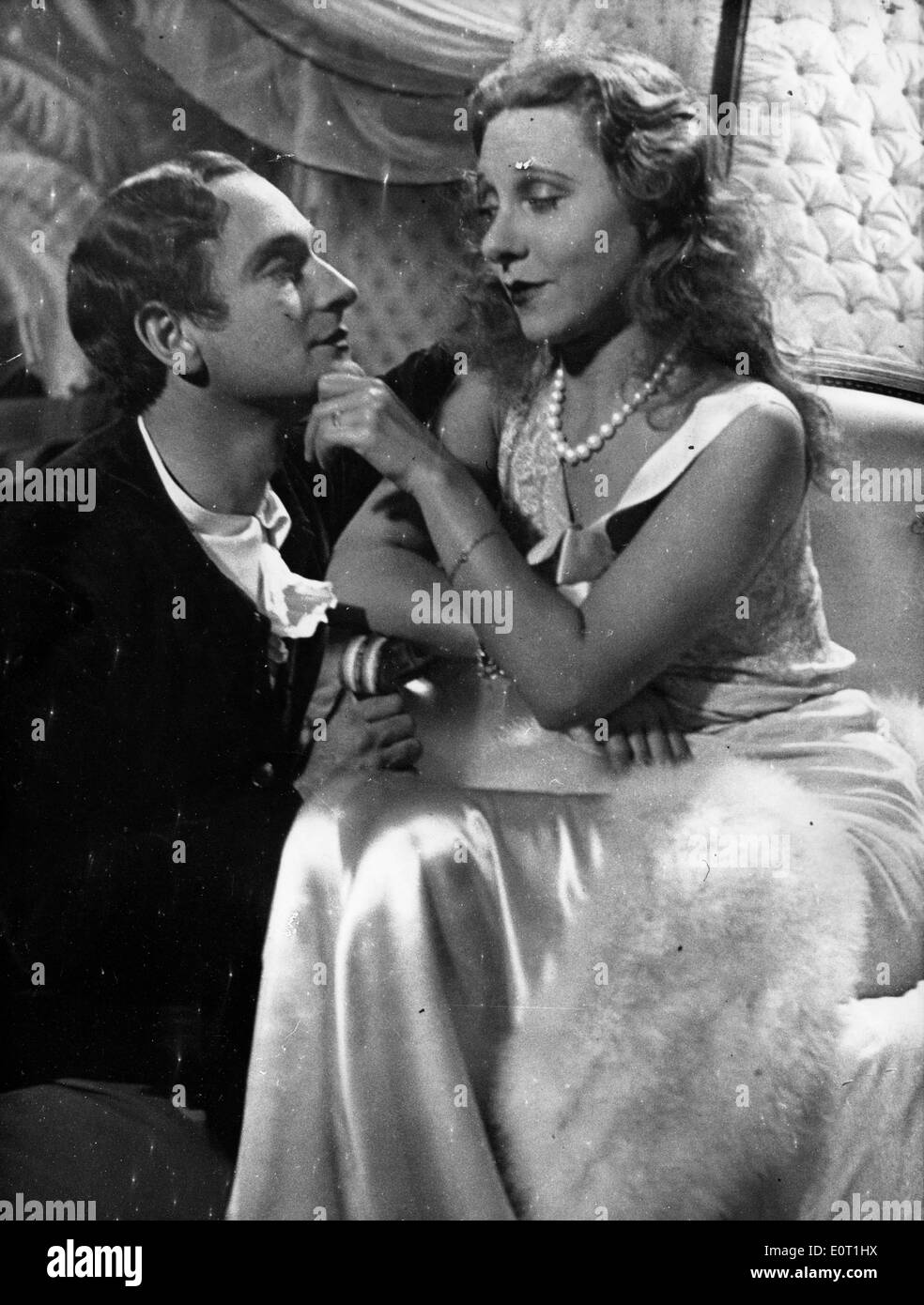 Actors Pierre Fresnay and Yvonne Printemps co-star