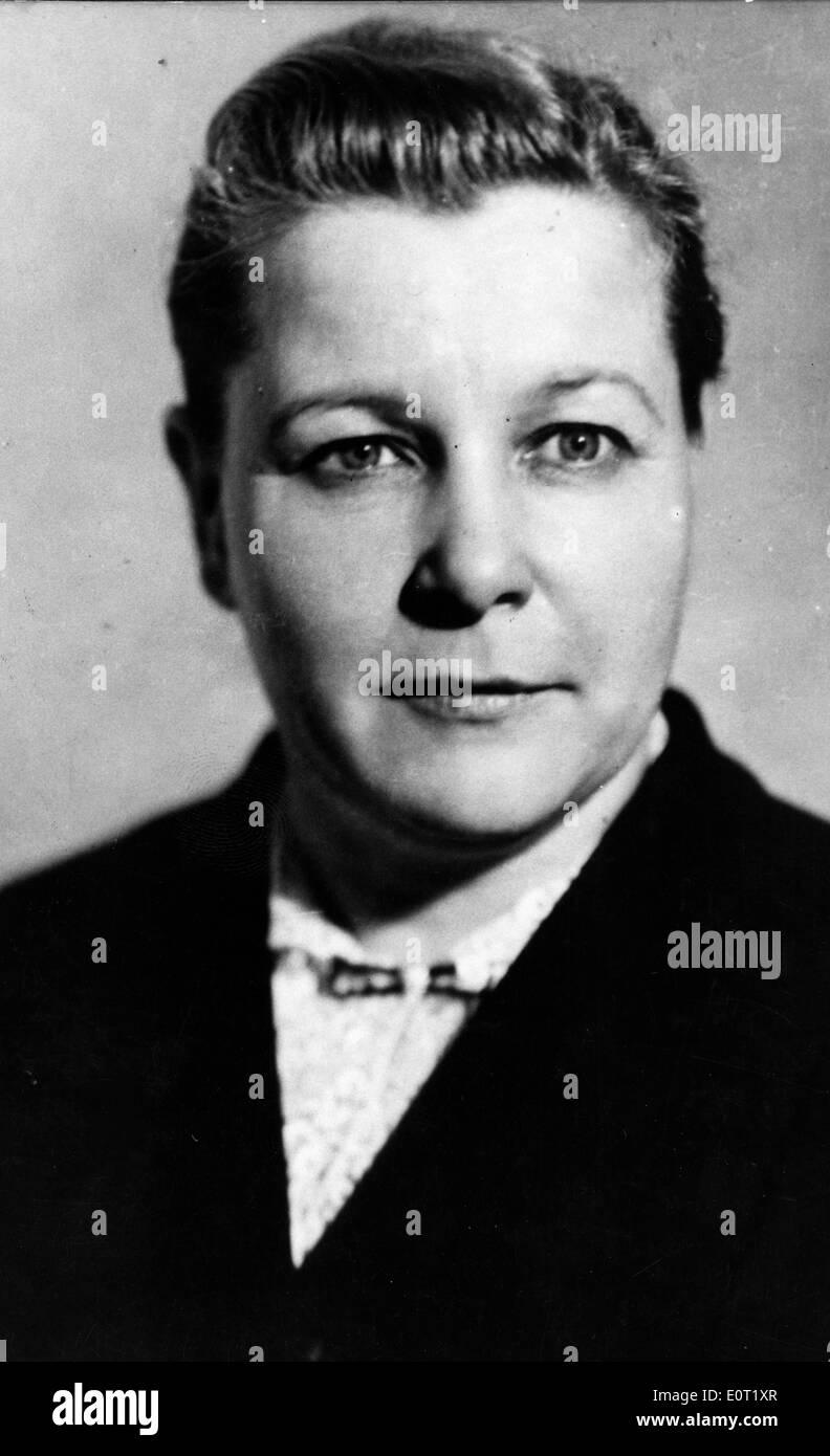 Influential politician Yekaterina Furtseva - Stock Image