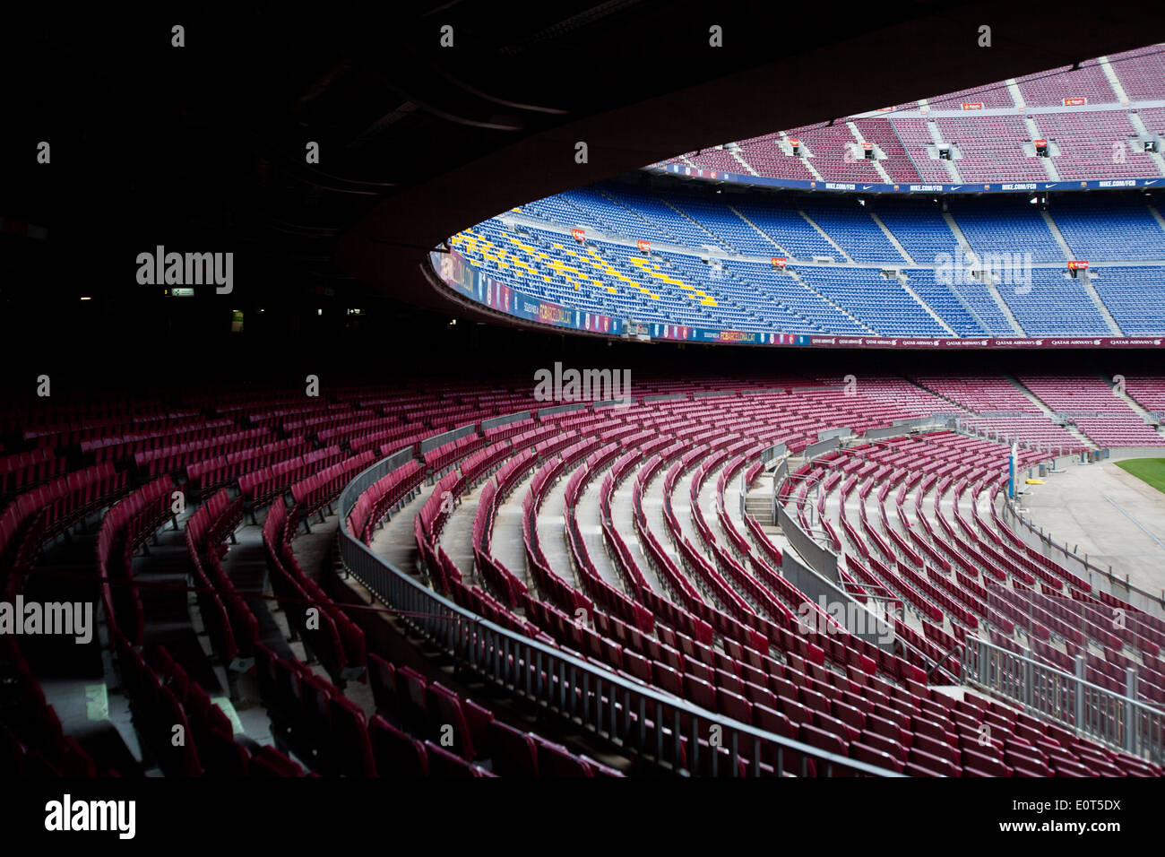 Football club Barcelona stadium Stock Photo