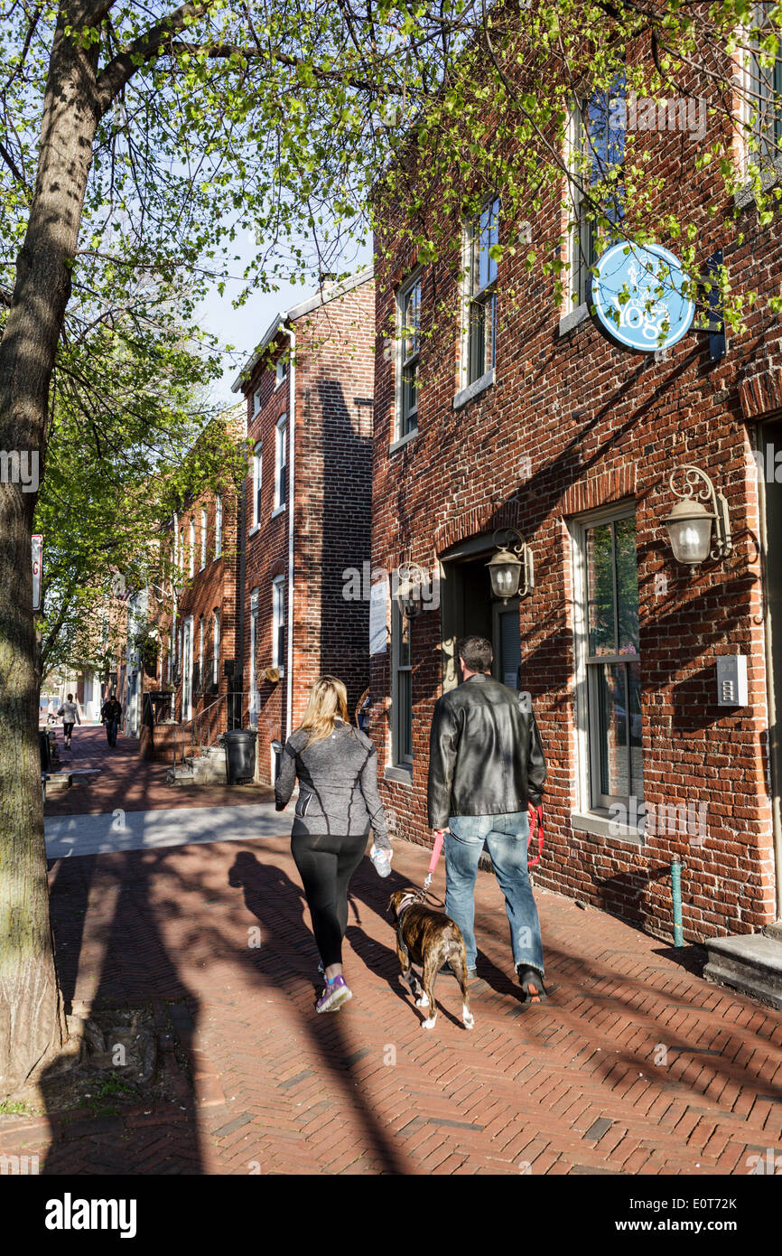 Fells Point, Baltimore, Maryland, USA - Stock Image