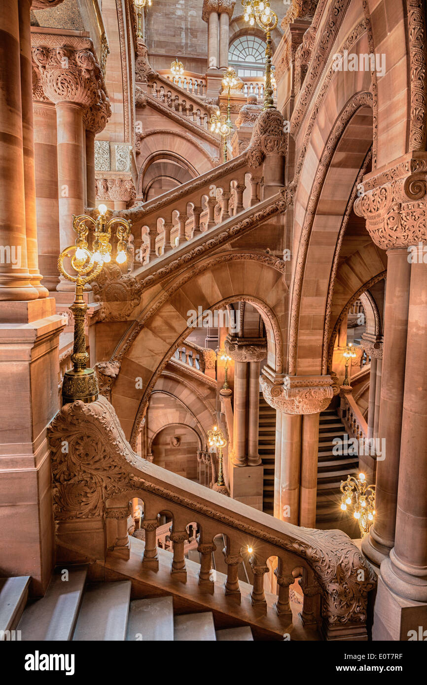 Million Dollar Staircase Aka Great Western Staircase In