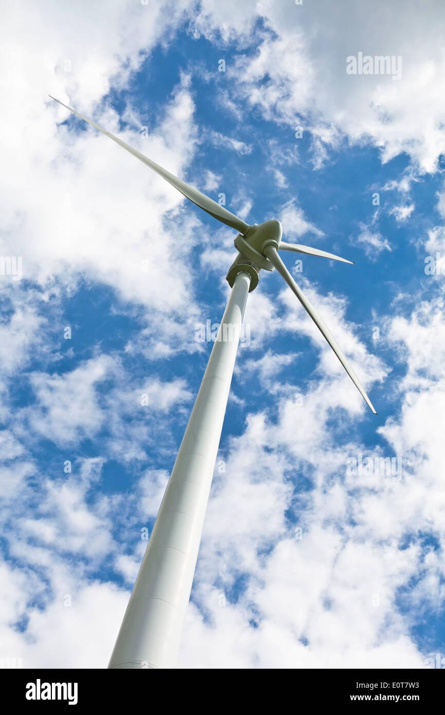 Windenergie, Windrad - Windmill - Stock Image