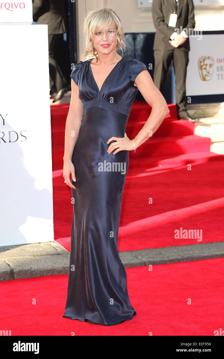 London, UK. 18th May, 2014. Jenny Jones attends the Arqiva British Academy Television Awards at Theatre Royal on May 18, 2014 in London, England./picture alliance © dpa/Alamy Live News - Stock Image