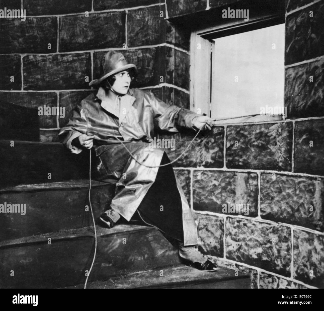 The Perils Of Pauline Film Serial Stock Photos & The