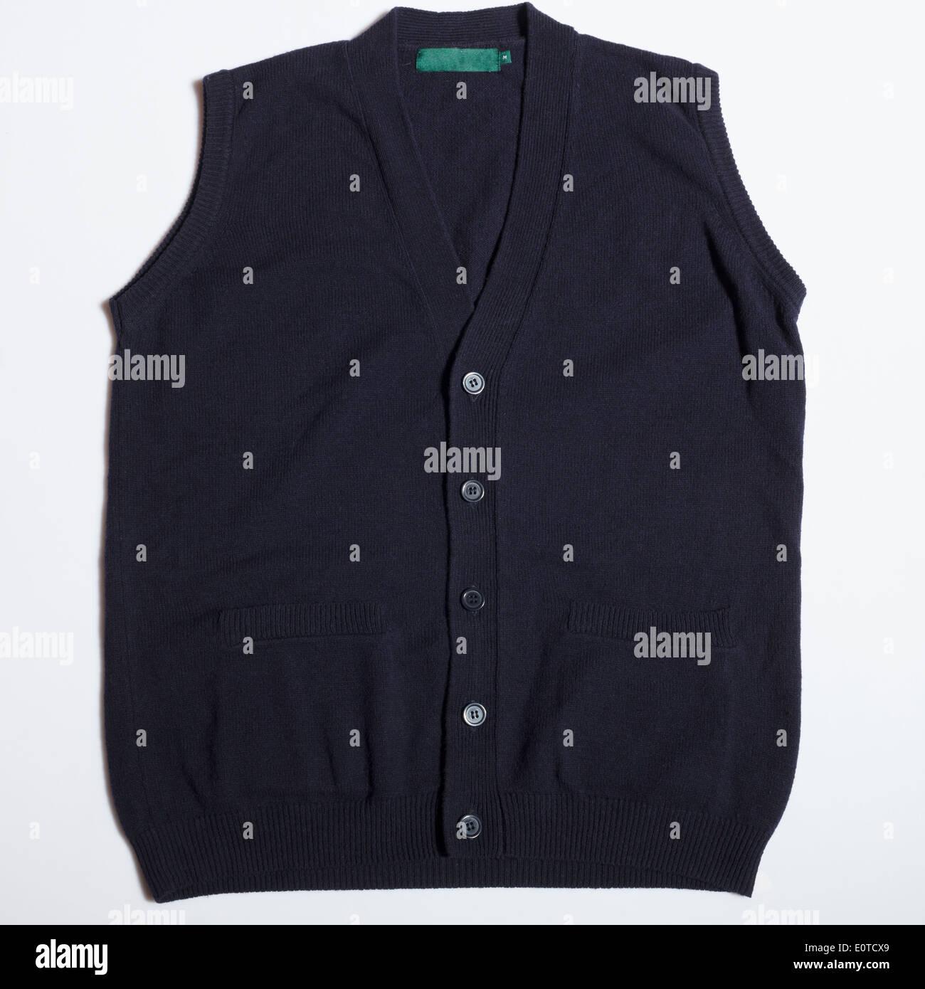 Wool vest - Stock Image